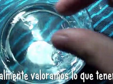 Agua: o todos o ninguno.