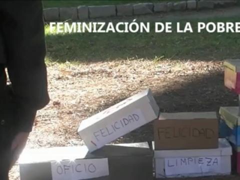 Di no a la feminización de la pobreza