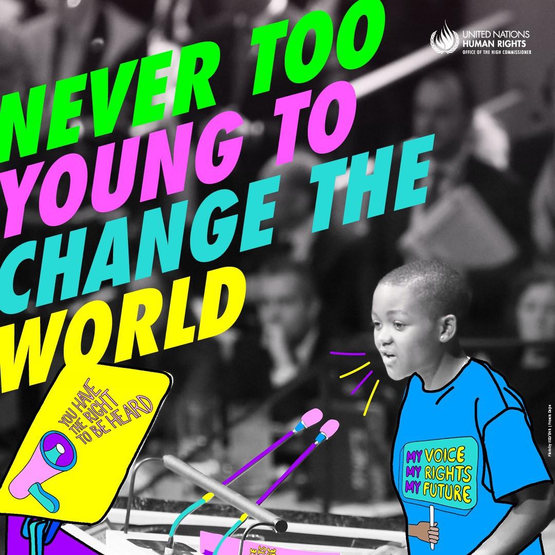 Los jóvenes protagonistas de la defensa del planeta y los derechos humanos