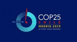 La COP 25. Cumbre del Clima. Tiempo de actuar - Imagen destacada. Cartel COP25