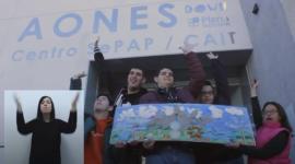 """""""Tu huella AONES"""", clipmetraje más votado por el público en la Categoría General"""